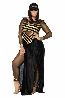 Plus Size Cleopatra (Womens Sexy Plus Size Nile Queen Egyptian Cleopatra Roleplay Costume)
