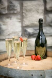 50 x 180ml Disposable Plastic Champagne Flutes Glasses Large [5055202124219]