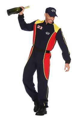 WIL - Herren Kostüm Rennfahrer Overall Karneval Fasching