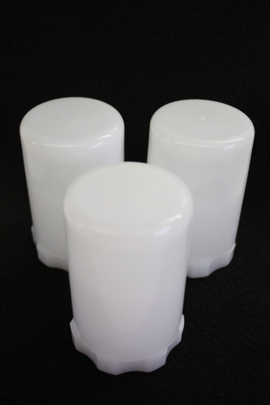 "1.25"" Bolt Style Plastic Telescope Eyepiece Case 3"" Tall -  Set of 3"