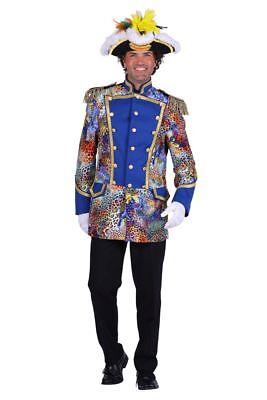 THE - Herren Kostüm Jacke Uniform Admiral Dschungel - Admiral Jacke Kostüm