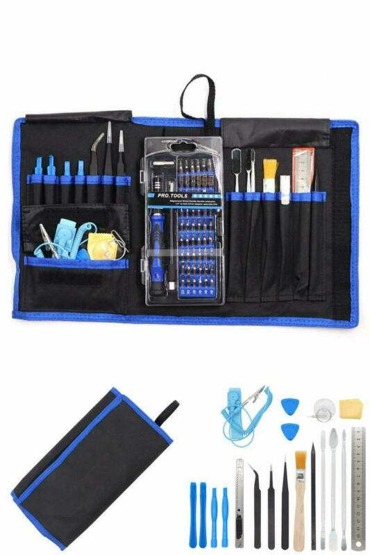 80 in 1 Pro Repair Toolkit Electronics Smartphone Tablet Com