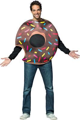Morris Costumes Adult Unisex Chocolate Doughnut Bite Costume One Size. GC6328](Adult Donut Costume)