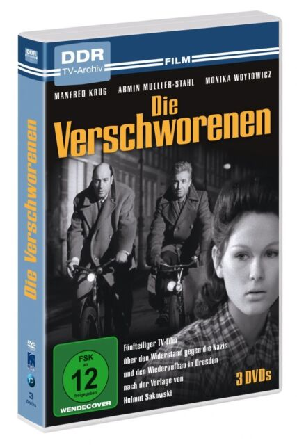Die Verschworenen - DDR TV-Archiv - 3 DVDs
