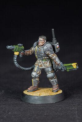 как выглядит Kasrkin Sergeant John D. Quaid, alternative model for Imperial Guard фото