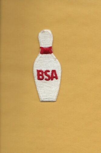 """BSA  """" BOWLING PIN """"  patch ??????? - Boy Scout BSA A132/7-18"""