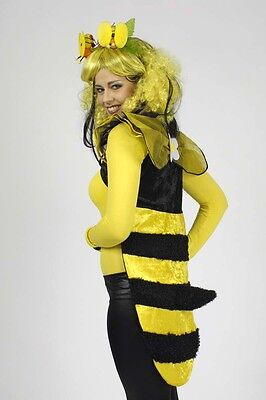 Weste Biene gelb schwarz für Kostüm Hummel Bienenkostüm Tierkostüm