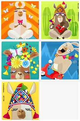 Llama Stickers x 5 - Birthday Party Favours Loot - Llama Party Gift Ideas Fun](Fun Birthday Party Ideas)