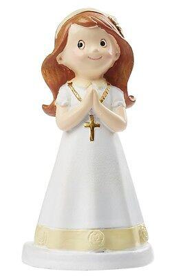 Kommunion Tortenfigur Kommunionkind Torten Figur Konfirmation Mädchen betend