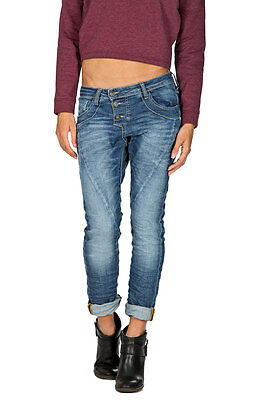 Please   P78 Womens Wrinkled Jeans