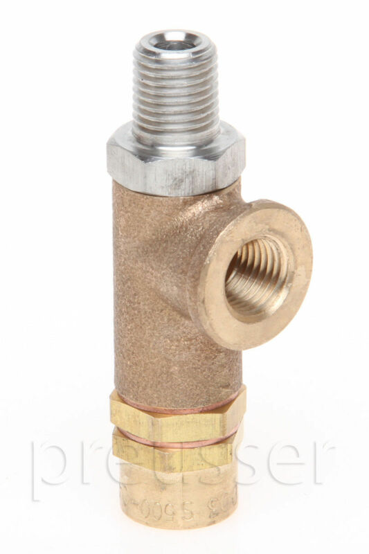 "500 PSI Safety Pressure Relief Valve 1/4"" Truckmount Extractors Carpet Cleaning"