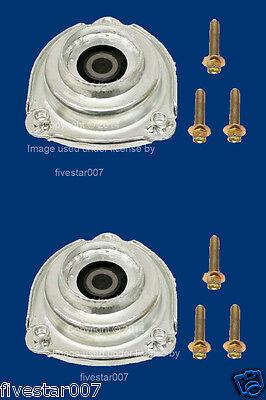2 Pro Parts Left + Right Front Strut Mounts Support Bushing Kit Set for Saab 9-5 (Parts Shock Springs Kits)