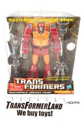 Rodimus Prime Offshoot TRU Sealed MISB MOSC Masterpiece Transformers