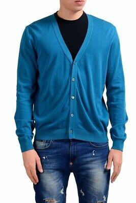 Malo Men's Blue Light Cardigan Sweater Size XS M L