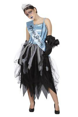 WIL - Damen Kostüm Zombie Ballkönigin Prinzessin Halloween Party