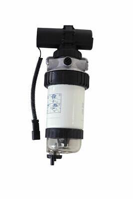Fuel Filterpriming Pump Fits Jcb Rough Terrain Fork Lift 930