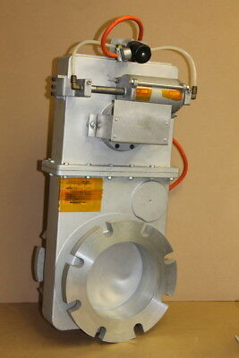 "High vacuum gate valve, 6"", electro-pneumatic, Vacuum Research"