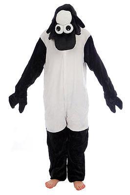 Sheep Shaun Kigurumi Anime Cosplay Pyjamas Costume Adult Onesie16 Fancy Dress UK