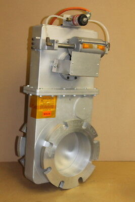 "High vacuum gate valve, electro-pneumatic, 6"" Vacuum Research"