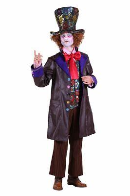 verrückter Hutmacher Clown Karneval Fasching (Verrückte Kostüm)