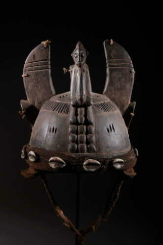 Art African Mask Helmet Senoufo 931
