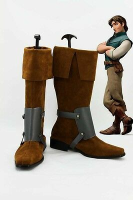 Tangled Rapunzel Flynn Rider Disney Kostüm Cosplay Schuhe Shoes Boots - Disney Tangled Kostüm
