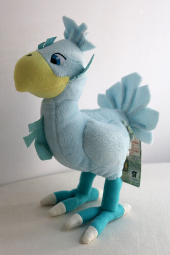 Final Fantasy VII 7 Blue Chocobo Plush Doll 1997 Square Co. Banpresto