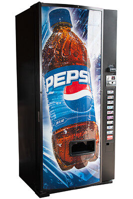 Dixie Narco 600e Drink Vending Machine Cans Bottles Free Shipping