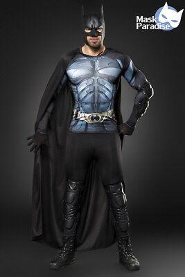 Kostümset Batman Kostüm für Herren Fasching Karneval - Batman Kostüm Für