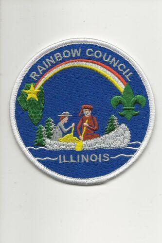 RAINBOW COUNCIL  ILLINOIS  CP patch - Boy Scout BSA A132/7-24