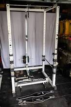 Power Strength Cage / Rack, 175Kg Olympic Weights, FID bench Dee Why Manly Area Preview