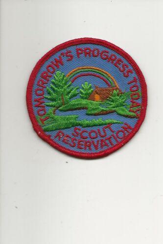 RAINBOW COUNCIL /  RESERVATION CAMP - 19??  Boy Scout BSA A132/7-4