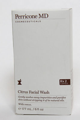 Perricone Md Citrus Facial Wash 6 Fl Oz New In Box