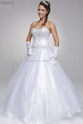 Formelle Braut Abendkleid Quinceanera Cinderella Kleid Hochzeit Destination