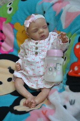 Ooak Reborn newborn real life  baby girl  Luna Baby  art doll