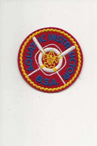 AQUATIC  INSTRUCTOR  patch - Boy Scout BSA A132/5-11
