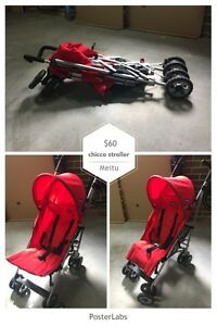 chicco stroller red West Pennant Hills The Hills District Preview