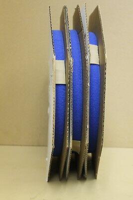 """Loop, 1"""" wide x 150 yds, Blue, Sew on, AA55126,  Lot of 3 50yd rolls"""