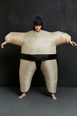 Sumo Wrestler Inflatable (Inflatable Sumo Wrestler Costume One Size New MSRP: $60 Urban Outfitters)