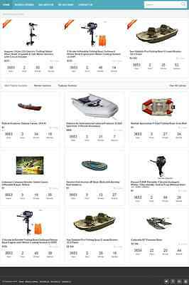 Boats Auction And Classified Ads Website Biz For Sale Mobile Responsive Design