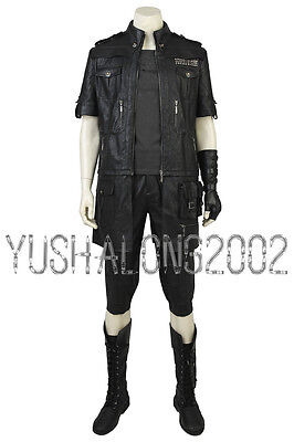FF Final Fantasy 15 XV Noctis Noct Lucis Caelum Cosplay Kostüm Costume Schuhe v2