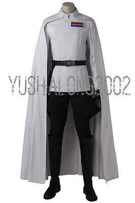 Rogue One A Star Wars Story Orson Krennic Cosplay Kostüm Costume Halloween Set ()