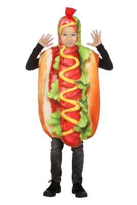 WIL - Kinder Kostüm Hot Dog Karneval Fasching - Hot Dog Kostüm Kinder