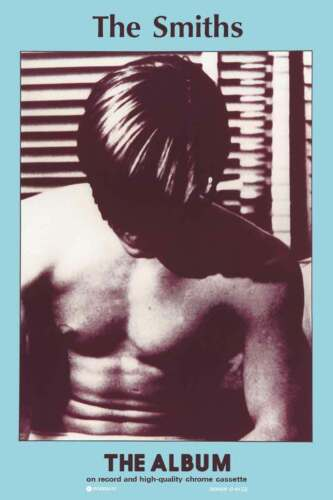 THE SMITHS FIRST ALBUM COVER POSTER NEW  !