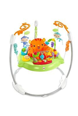 Fisher-Price CHM91-BF51 Roaring Rainforest Jumperoo Activity Centre For 0+
