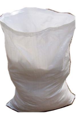 100 Extra Large Woven Polypropylene Rubble Sacks Heavy Duty Size 60 x 100 cm XL