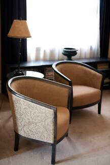 Exquisite Club Chairs Cammeray North Sydney Area Preview