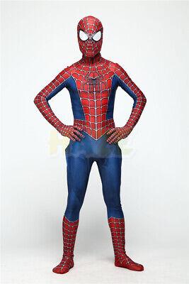 Klassische Raimi Spider Man Halloween Cosplay Kostüme 3D gedruckt Anzug ()