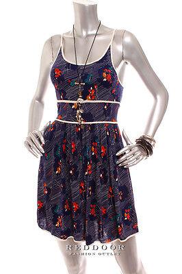 New Urban Outfitters Cooperative Women Spaghetti Strap Sun Dress Multi Xs  L