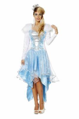 WIL - Damen Kostüm Eiskönigin Prinzessin Karneval Fasching